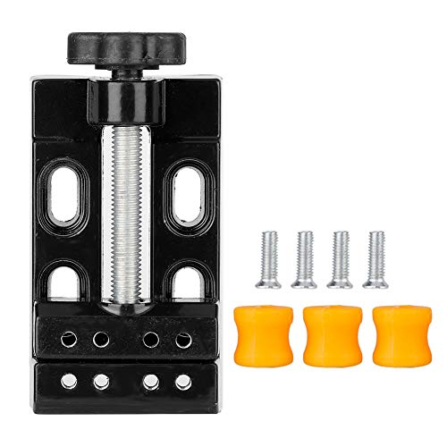 Qkiss Mini-elektrische boormachine, sub-mini-clip, platte tafelclip, om te knutselen, voor sieraden