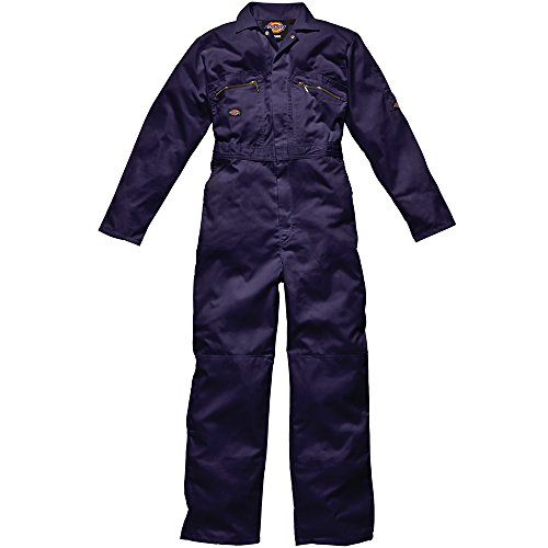 "Price comparison product image Dickies WD4839 NV 36R Size 46 ""Redhawk"" Overall with Zip - Navy Blue"