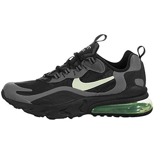 Nike Air Max 270 React (Gs) - Black/Barely Volt-Black-Dark Grey, Größe:5.5Y