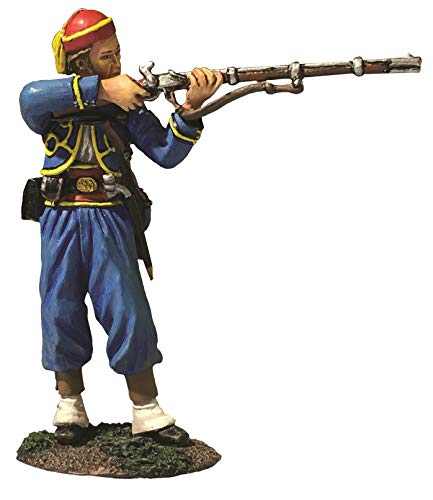 W.Britains American Civil War Civilian 31282 146th New York Federal Zouave Standing Firing 1:30 Scale Pewter