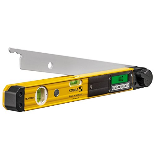 STABILA Elektronik-Winkelmesser TECH 700 DA, 45 cm, mit Digital-Display