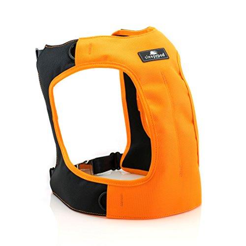 Sleepypod Clickit Terrain Auto-Sicherheitsgurt Sicherheitsgurtgeschirr für Hunde (M, Orange Dream)