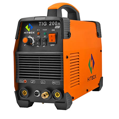 Hitbox Tig Welder 200a Dual Volt 110 220 Buy Online In Saudi Arabia At Desertcart