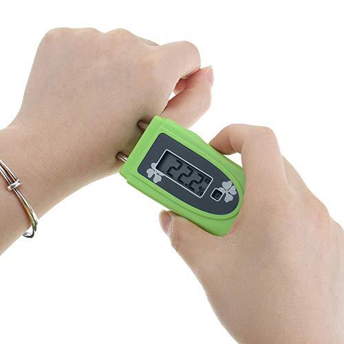 NICOLIE 2 en 1 probador de índice UV probador de intensidad ultravioleta detector UV piel humedad monitor