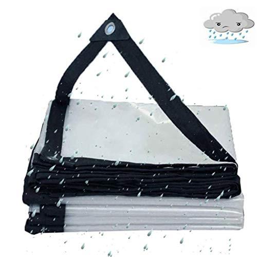 QI-CHE-YI Lona, Pesado, Lona Plegable Resistente al Agua e Impermeable PE Ojal de plástico,2x5m