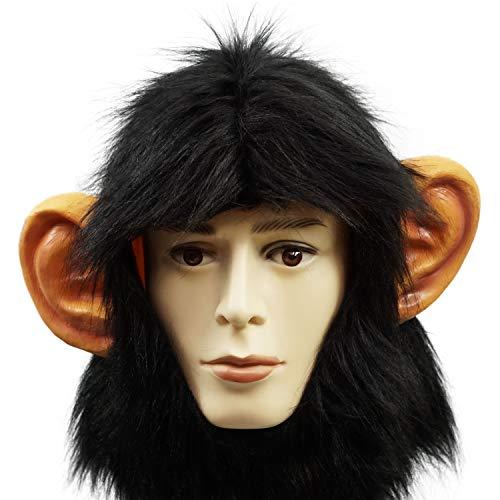 PartyHop AFFE Hälfte Maske Tier Kopfmaske Für Halloween Karneval Kostüm Party Schimpanse Gorilla Masken Parade