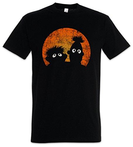 Urban Backwoods E & B Puppets Herren T-Shirt Schwarz Größe 5XL