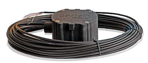 Cartell CP-4 Smart Driveway Free Exit Wand Sensor System with 100' Foot Cable for Gate Openers
