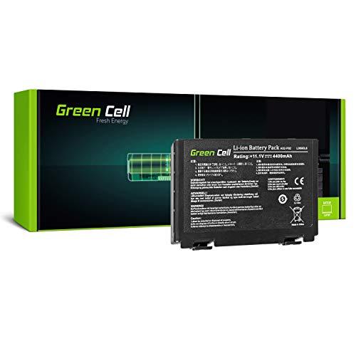 Green Cell Standard Serie A32-F82 A32-F52 Laptop Akku für ASUS K50 K50AB K50C K50i K50IJ K50iN K51 K51AC K70 K70IJ K70IO (6 Zellen 4400mAh 10.8V Schwarz)