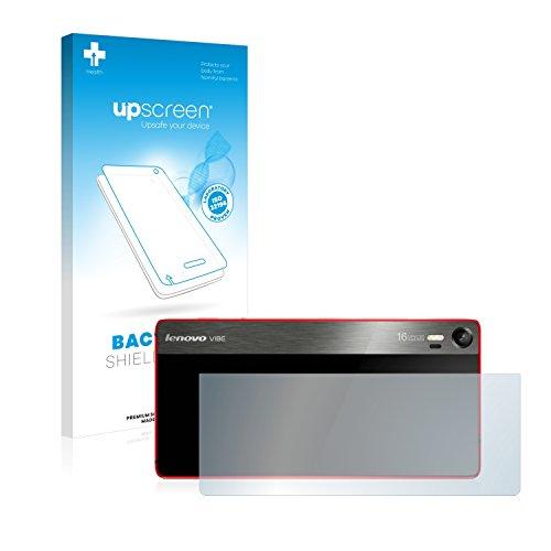 upscreen Antibakterielle Schutzfolie kompatibel mit Lenovo Vibe Shot (Rückseite) klare Bildschirmschutz-Folie