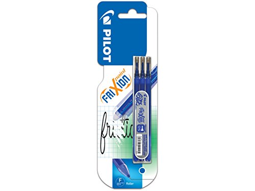 Pilot - FriXion Point - Set de 3 recharges - Bleu - Pointe Fine