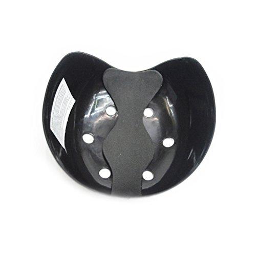 WINOMO Outdoor-Sicherheits 6-Loch-Bump Cap Filtereinsatz für Baseball-Caps (Schwarz)