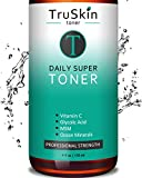 DAILY Facial SUPER Toner for All Skin Types, With Glycolic Acid,...