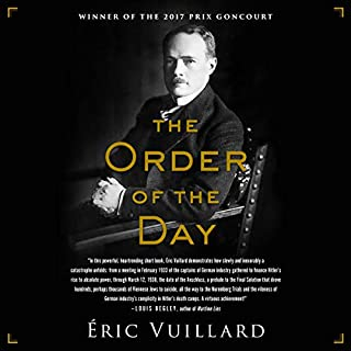 The Order of the Day audiobook cover art