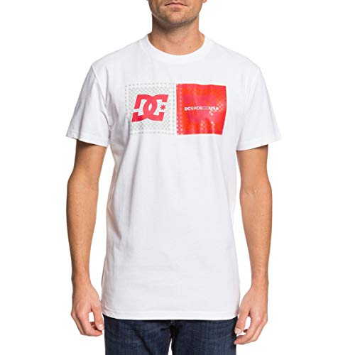 DC Shoes Come with Pills - T-Shirt - T-Shirt - Männer - M - Weiss