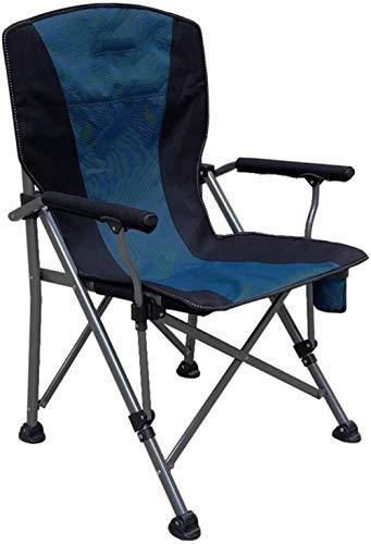 Kniestühle Sonnenliege Folding gepolstert Campingstuhl for die professionellen Einsatz mit hohen Rückenlehne, Cupholder xiuyun (Color : 4#)