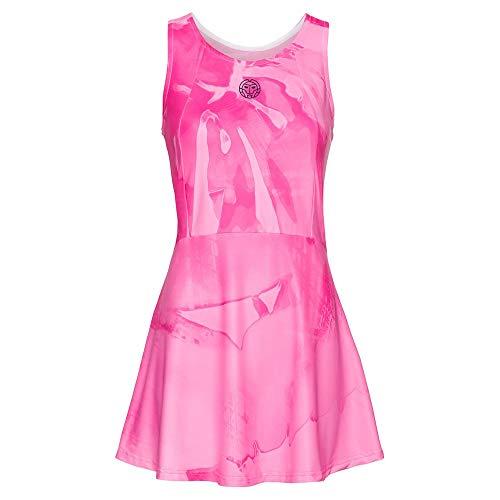BIDI BADU Dress (3 in 1), Youma Tech-Vestitino 3 in 1 Donna, Rosa, Blu Scuro, XL