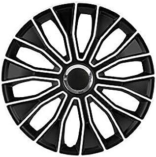 Radkappen Satz 16 Zoll Voltec Pro Schwarz Weiss Von Petex 1350 3631 Radzierblenden Radblenden Felgendeckel Raddeckel Stahlfelge Auto