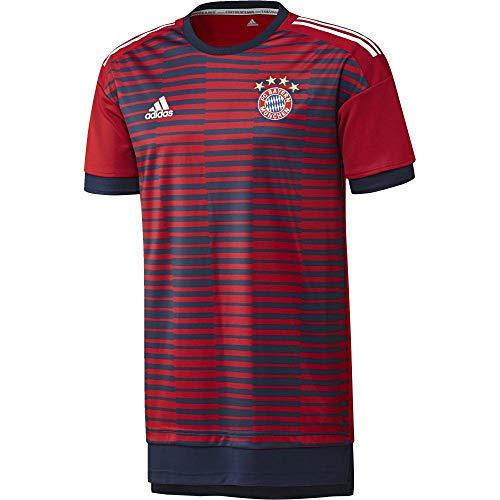 adidas FC Bayern Monaco Felpa, Uomo, Uomo, CF1580, Rosso (rojfcb/Maruni), L
