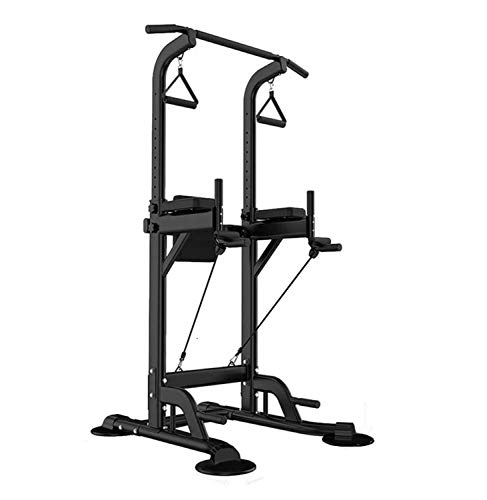 Power Tower Exercise Equipment, Power Tower Pull Up Bar, Power Tower Dip Station,Power Tower Workout, Multi-Function Strength Training Equipment for Home Gym (Stand Workout Station (PRZHPT1601))