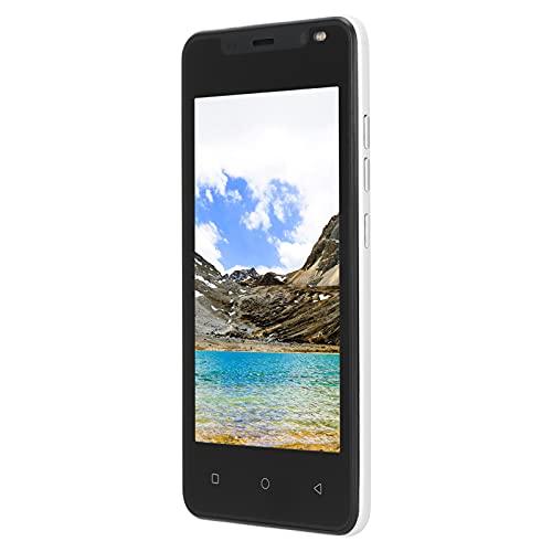 Yivibe Smartphone, Unisex Procesador Potente Cámaras Duales Delanteras Traseras Teléfono Inteligente con Pantalla De 4.66 Pulgadas para 4.4.2(Blanco)