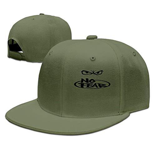 HujuTM Unisex No Fear Angry Eyes Casual Baseball Cap Hat Natural