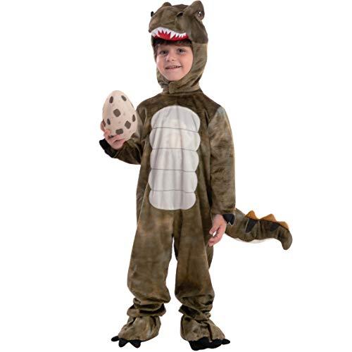 Child Unisex T-rex Realistic Costume (3T)
