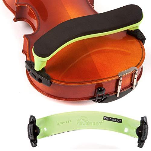 Everest 3/4-1/2 Violin ES Neon Green Shoulder Rest