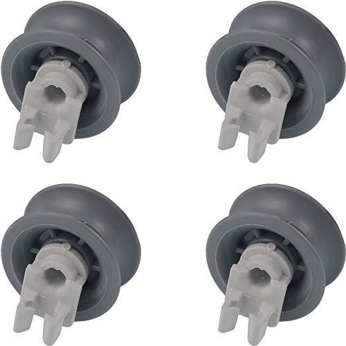KG-Part 00165313 00611666 - Rueda superior para lavavajillas (4 piezas)