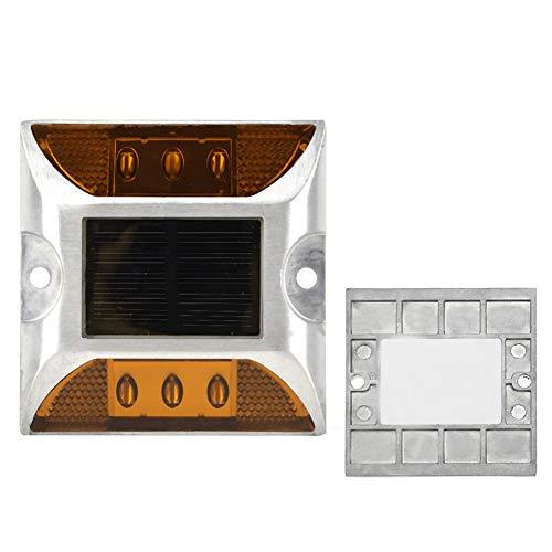 AMONIDA 6 x 5mm superhelle Anti-Fog-LED-Lichter Straßenblinklichter, Bodenlampe, mehr als 500 Meter Betrachtungsabstand LED-Bodenlichter, für Parkgarten
