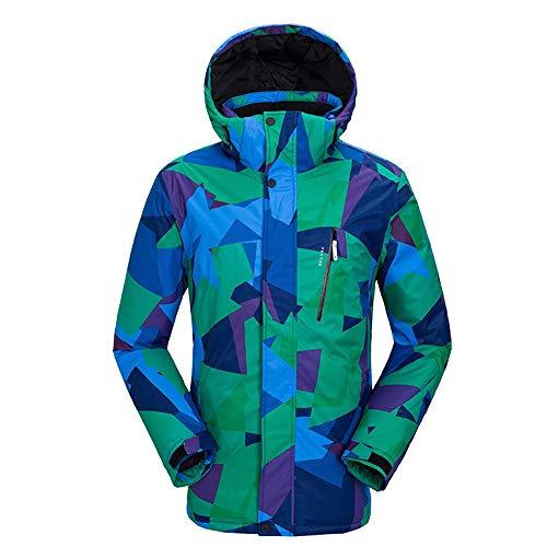 Uiophjkl ski-jack, winddicht, skipak buiten, winter, paar, ademend, bedrukt, slijtvast, waterdicht, sport, sneeuwpak winddicht