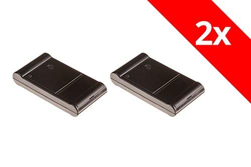 2 Tedsen Teletaster SM1MD Handsender Original Garagentoröffner Funk Fernbedienung Elka Berner 26,985 Mhz Codierschalter SM1 AGB 193 - M512
