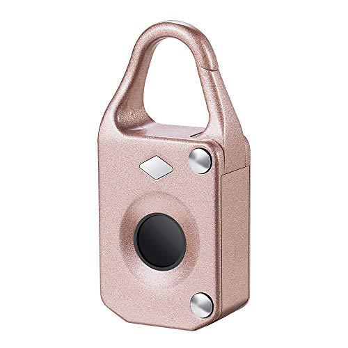 ddellk vingerprint-hangslot, multifunctionele diefstalbeveiliging, vingerafdruk, smart-lock voor deur-trekker, rugzak-koffer, fiets