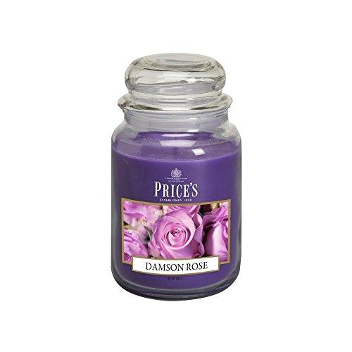 Price' S Candele Barattolo Grande Damson Rose