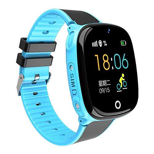 Reloj inteligente Children resistente al agua, con GPS, posicionamiento inteligente, tarjeta de encendido de larga duración