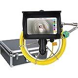 20M Telecamere di ispezione WIFI Endoscopi Videocamera per ispezione Fognatura DVR Registrazione video/WIFI wireless/Fotoritocco/Telecamera HD 1080P / Touchscreen 7inch / Luci LED 6W