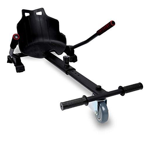 """Moebeliev Hoverboard Sitz, Hoverboard Kart Aufsatz, Selbstausgleichender Roller Kompatibel von 6,5\""""bis 10\"""" Größenverstellbar für Kinder und Erwachsene"""