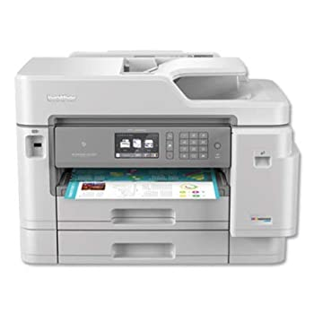 Brother Inkjet Printer MFC-J5945DW INKvestmentTank Color Inkjet All-in-One Printer with Wireless Duplex Printing NFC and Up to 1-Year of Ink-In-box Amazon Dash Replenishment Ready