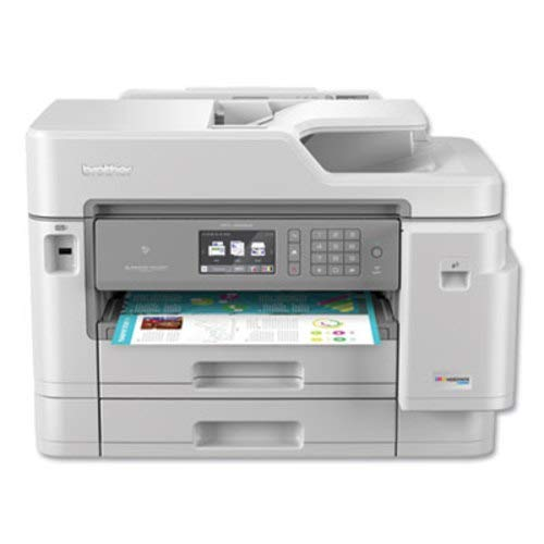 Brother Inkjet Printer, MFC-J5945DW, INKvestmentTank Color Inkjet All-in-One Printer with Wireless, Duplex Printing, NFC and Up to 1-Year of Ink-In-box, Amazon Dash Replenishment Ready