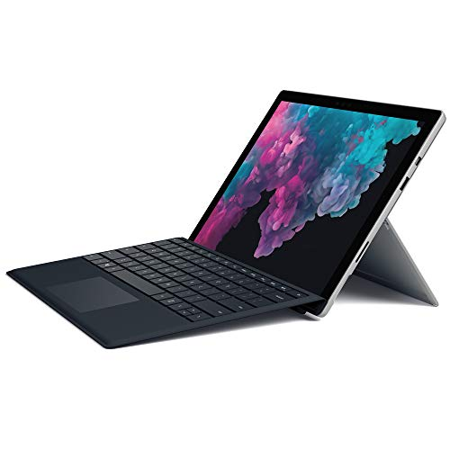 Microsoft Surface Pro 6, 31,25 cm (12,3 Zoll) 2-in-1 Tablet (Intel Core i5, 8GB RAM, 256GB SSD, Win 10 Home) Platin + Type Cover, schwarz