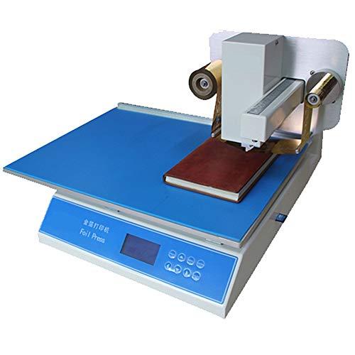 gr-tech Instrument® Numérique automatique Film Imprimante Feuille d'Or de presse Hot Stamping Impression sur Aluminium 220V