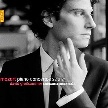 Mozart: Concertos for Piano No. 22 & 24