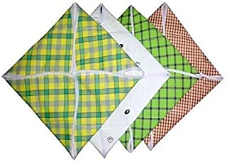 Fanto Cover Cotton Roti Covers, Multicolour (Set of 4)