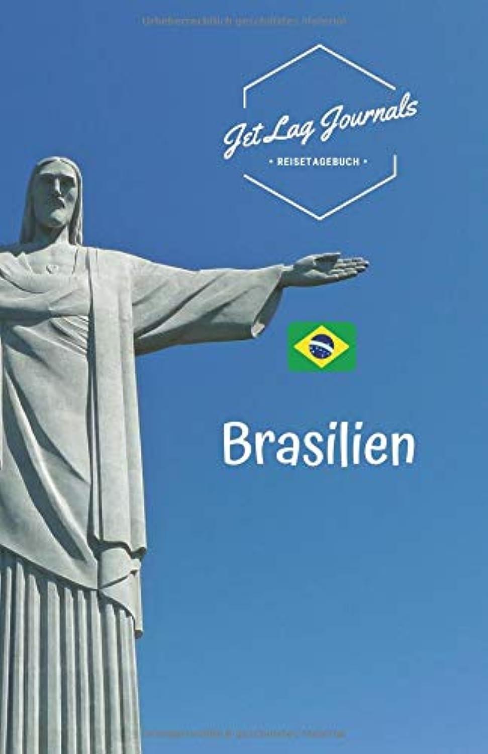 区殺す藤色JetLagJournals ? Reisetagebuch Brasilien: Erinnerungsbuch zum Ausfuellen und Selberschreiben | Ideal als Abschiedsgeschenk