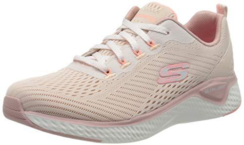 Skechers Mädchen SOLAR Fuse Cosmic View Sneaker, Rosa Hellrosa Mesh Pink Trim Ltpk, 35 EU