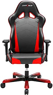 DXRacer OH/TS29/NR Tank Series Black and Red Gaming Chair - Includes 2 Free Cushions