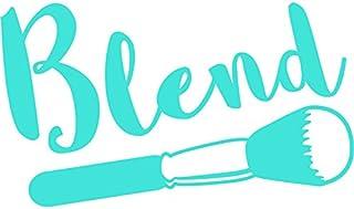 """ملصق مائي من الفينيل لفناني المكياج   أكواب سيارات شاحنات Vans Walls وأجهزة الكمبيوتر المحمولة   أزرق فاتح   7. 5""""   KCD89..."""