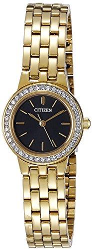 Citizen Analog Black Dial Women's Watch - EJ6102-56E