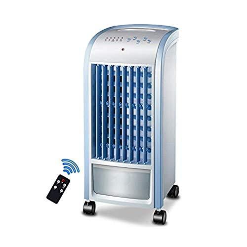 QIURUIXIANG Refrigeradores evaporativos enfriadores aire acondicionado móvil ventilador refrigerado aire acondicionado pequeño hogar aire acondicionado control remoto QU529