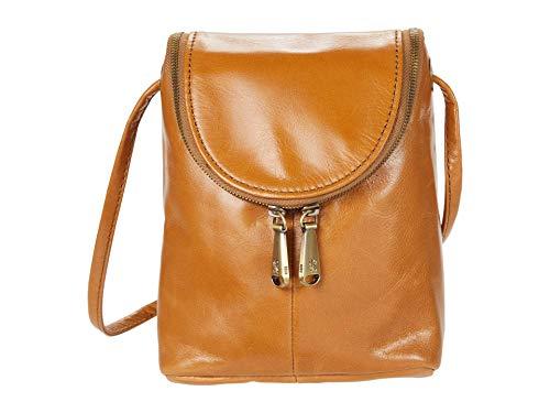 HOBO Fern Crossbody Handbag For Women Honey Vintage Hide One Size